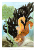 Seahorse Serenade I Prints by Charles Swinford
