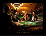 Royal Flush Posters by Chris Consani