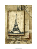 Passport to Eiffel Limited Edition by Ethan Harper