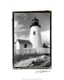 Pemaquid Point Light, Maine I Giclee Print by Laura Denardo