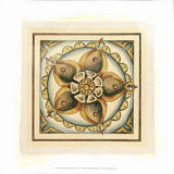 Crackled Cloisonne Tile V Giclee Print by Chariklia Zarris