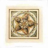 Crackled Cloisonne Tile V Premium Giclee Print by Chariklia Zarris