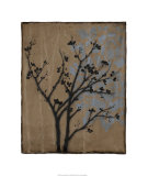 Branch in Silhouette I Premium Giclee Print by Jennifer Goldberger