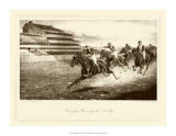 Winning the Derby Wydruk giclee autor Harington Bird