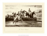 The Grand National Print by Harington Bird