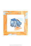 Charlie's Dumptruck Posters by Charles Swinford