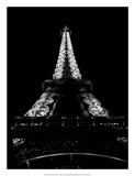 Tour Eiffel la Nuit Giclee Print by H. Jennings Sheffield