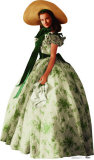 Gone With the Wind - Scarlett O' Hara Lifesize Standup Cardboard Cutouts