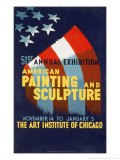Exhibition at the Art Institute of Chicago, 1940 Prints