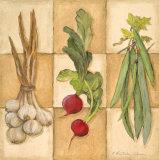 Fresh Veggies II Posters by Charlene Winter Olson