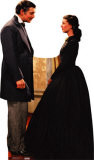 Rhett Butler And Scarlett O'Hara Cardboard Cutouts