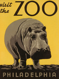 Visit the Philadelphia Zoo Posters