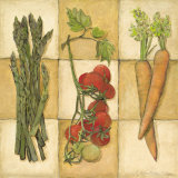 Fresh Veggies I Prints by Charlene Winter Olson