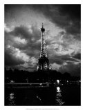 Nuit Orageuse au Tour Eiffel Giclee Print by H. Jennings Sheffield