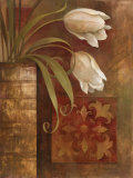 Tulip Interlude I Art by Elaine Vollherbst-Lane