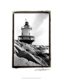 Spring Point Light, Maine I Reproduction procédé giclée par Laura Denardo
