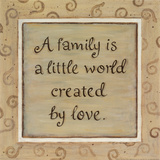 A  Family Poster by Karen Tribett
