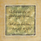What We Are Print by Karen Tribett