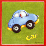 Car Print by Kathy Middlebrook