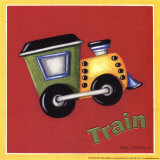 Train Prints by Kathy Middlebrook