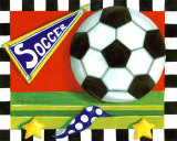 Soccer Prints by Kathy Middlebrook
