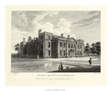 Hill Hall in Essex Giclee Print by W. Watts