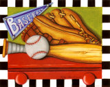 Baseball Posters by Kathy Middlebrook