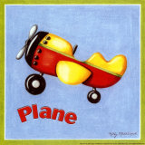 Plane Print by Kathy Middlebrook
