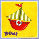 Boat Prints by Kathy Middlebrook