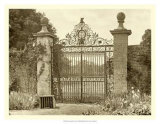 Sepia Garden View II Giclee Print