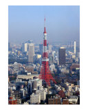 Tokyo Tower Japan Photographic Print by Alex Cybriwsky