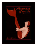 Mermaid Tequila Photographic Print by Liza Phoenix