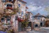Italian Village II Poster by Joseph Kim