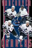 Vancouver Canucks (Daniel Sedin, Roberto Luongo, Henrik Sedin, Markus Naslund) Prints
