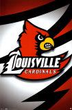 Louisville Cardinals- Logo Poster