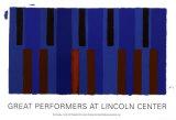 Keyboard Variations, 2004 Zeefdruk van Pat Lipsky