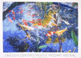 Pond with Goldfish, 2004 Serigraph by Joseph Raffael