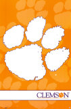 Clemson Tigers- Logo Poster