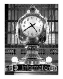 Grand Central Clock Photographic Print by Jaymes Williams