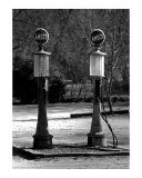 Gas Pumps Photographic Print by Robert Jones