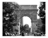 Washington Square Arch, Greenwich Village New York Photographic Print by DW labs