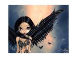 Black Winged Angel (Gothic Angel Fairy)