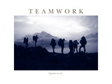 Teamwork - Together we can Photographic Print by AdventureArt