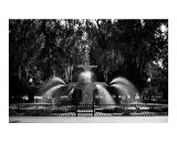 Savannah Fountain 2, Georgia Photographic Print by Benjamin Padgett