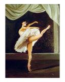 Ballerina Giclee Print by tara benet
