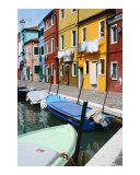 Burano Corner With Laundry Photographic Print by Donna Corless