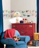 Alfabeto (sticker murale) Decalcomania da muro