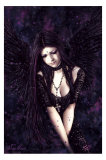 Lamenting Angel- Victoria Frances Prints