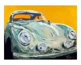 Porsche 356 Giclee Print by Benjamin Walker