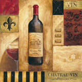 Chateau Vin Posters by Gregory Gorham